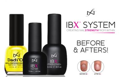 Affinity start met een IBX behandeling voor de natuurlijke nagel.